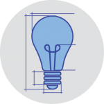 Design Lightbulb Icon 2