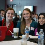 David Eccles School of Business students attend the Business Career Conference