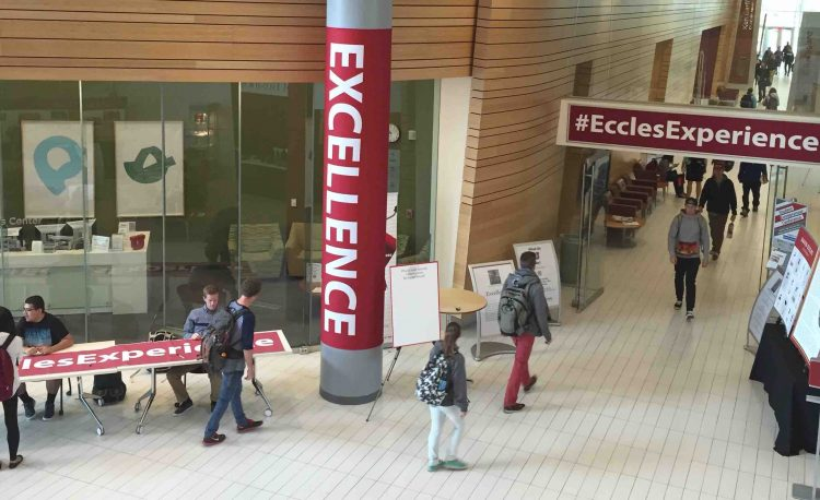 David Eccles Week honors the school value of Excellence