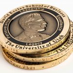 The David Eccles Coin honors the school's namesake, values