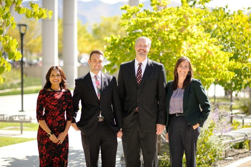 EMBA students at the Eccles campus
