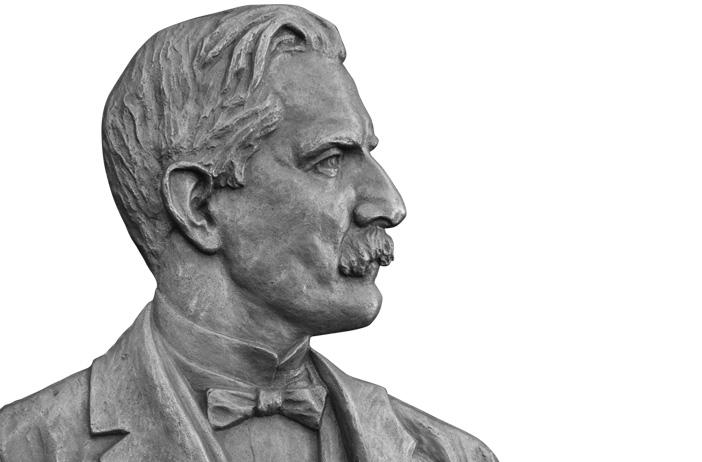David Eccles bust
