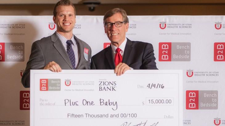 Bench-to-Bedside grand-prize winner could prevent infant death