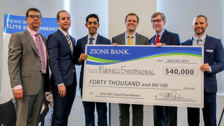 U of U student startup wins $40K at Utah Entrepreneur Challenge