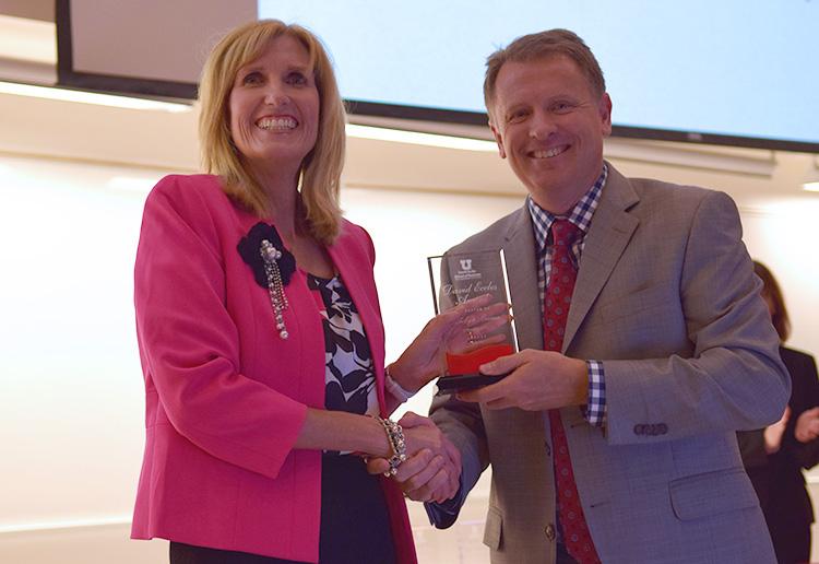 Carolyn Buma won the David Eccles Award for Legacy