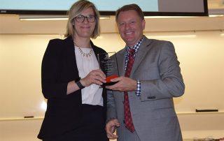 Kris Fenn won the David Eccles Award for Community