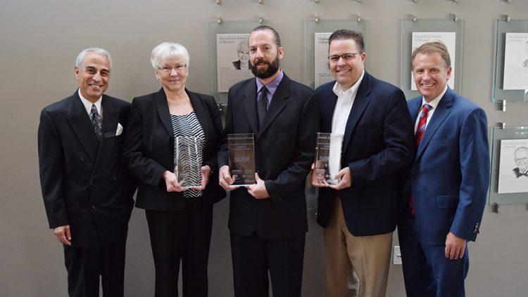 Ethical Leadership Award Winners 2015