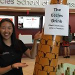 Students get a free Eccles Drink