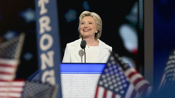 Hillary Clinton acceptance photo