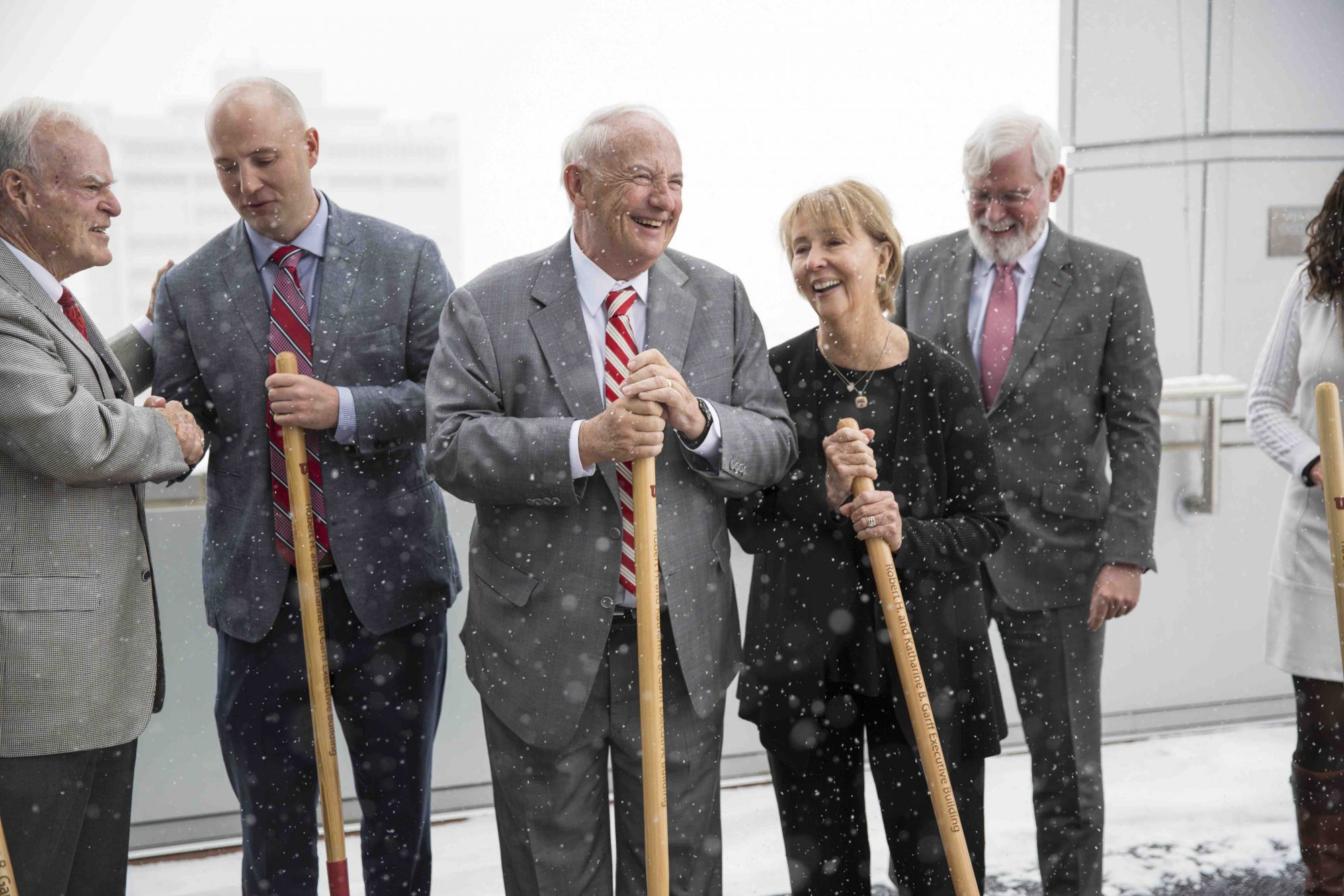 Groundbreaking for the new Garff Executive Education Building