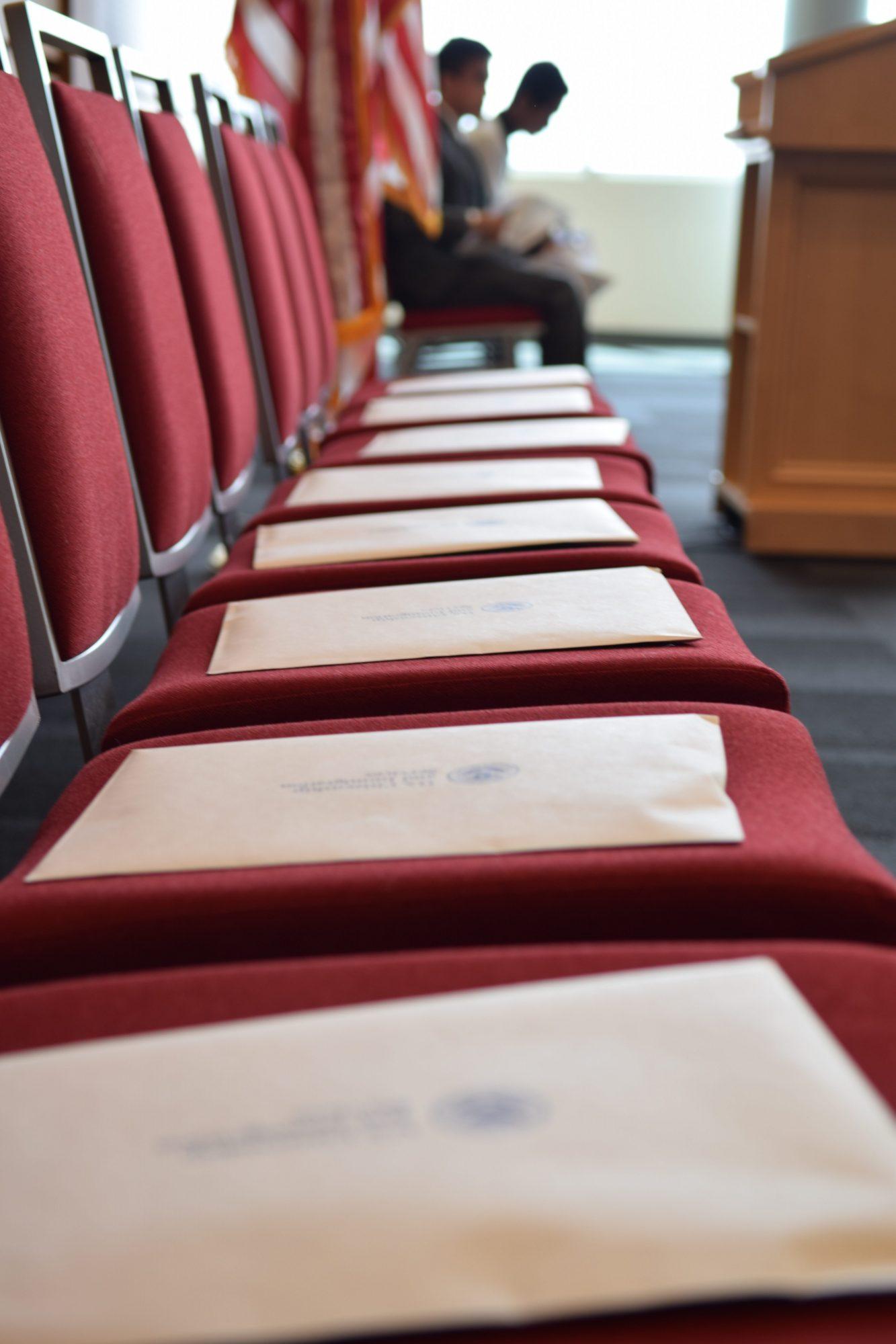 Eccles School helps welcome new U.S. citizens in ceremony