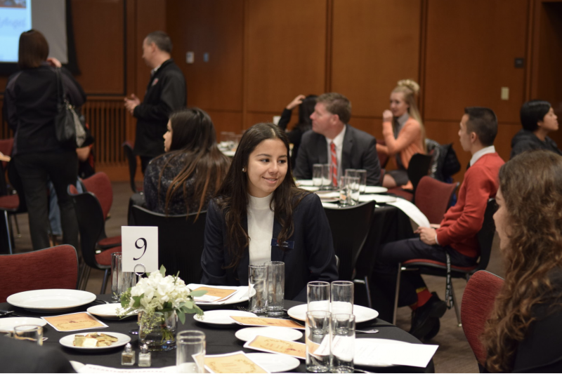 Ten tips to get through a business meal with grace
