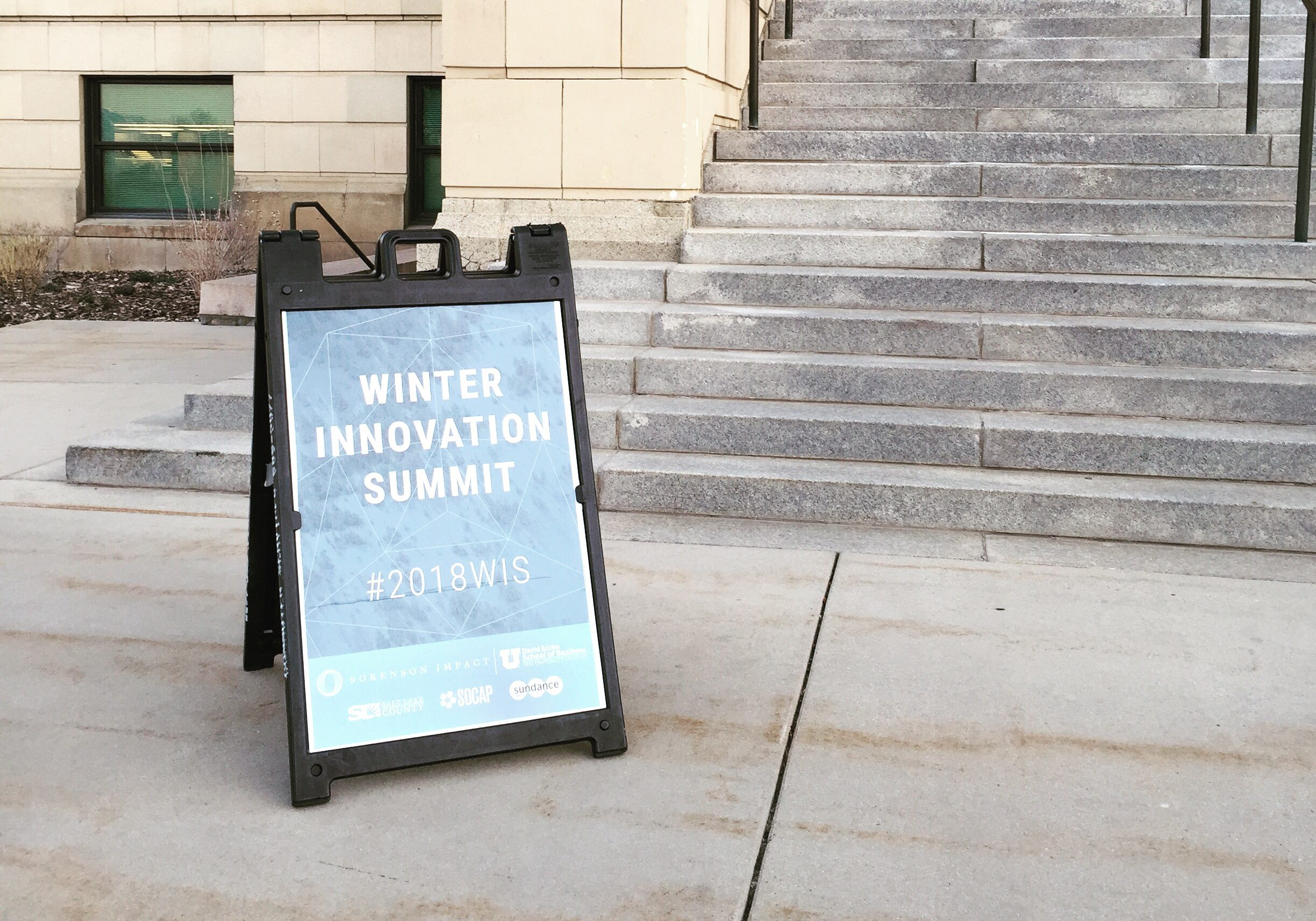 We had a fantastic first day at the Winter Innovation Summit with Sorenson Impact! Here are some of the highlights.