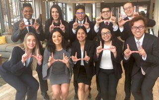 Diversity Scholars win at Leeds case competition