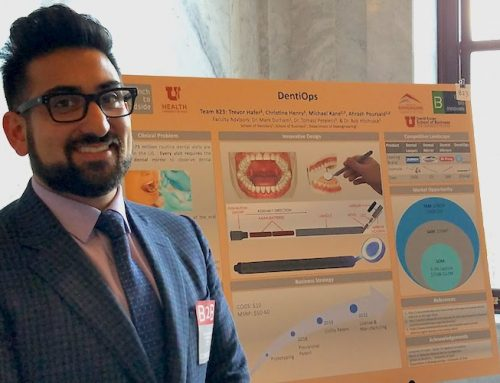 Eccles School MBA students innovate and win at Bench to Bedside