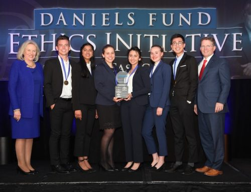 Eccles School team takes first place at national ethics case competition