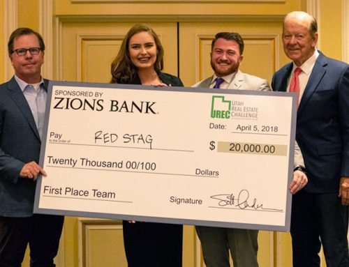 Eccles MRED students win $20,000 at the Utah Real Estate Challenge