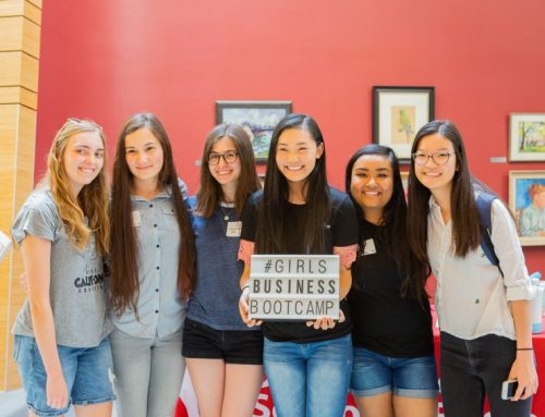 Bringing future business women together at the Girls Business Bootcamp