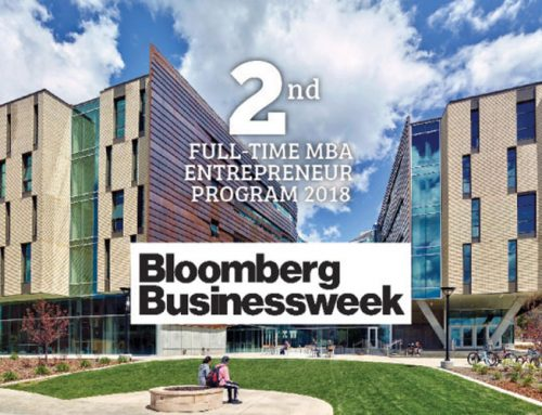 University of Utah MBA program ranked No. 2 for entrepreneurship by Bloomberg