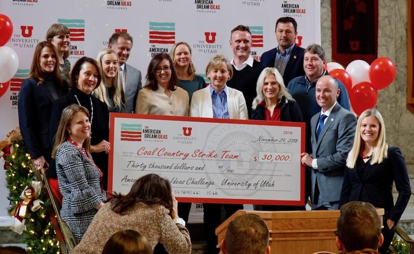 Gardner Policy Institute named finalist in American Dream Ideas Challenge