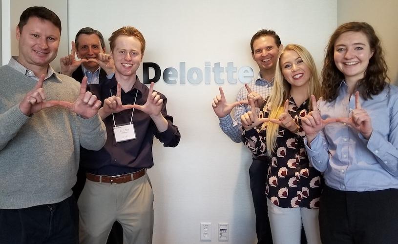 Eccles School team wins regional Deloitte FanTAXtic Tax Case Competition