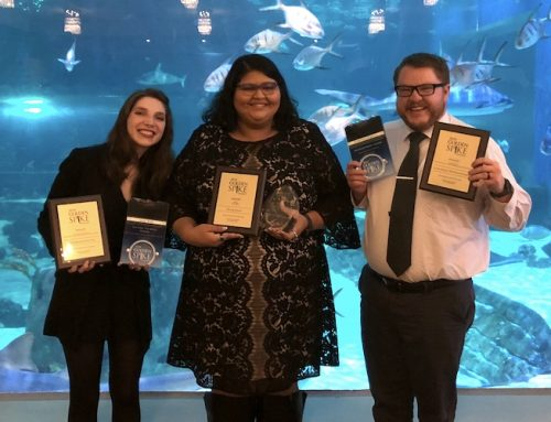 Eccles School takes home six PRSA Golden Spike Awards