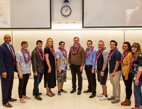 Opportunity Scholars Winter Luau Welcomes Congressman-Elect Ben McAdams