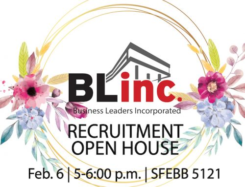 Gain student leadership experience by joining Blinc today!