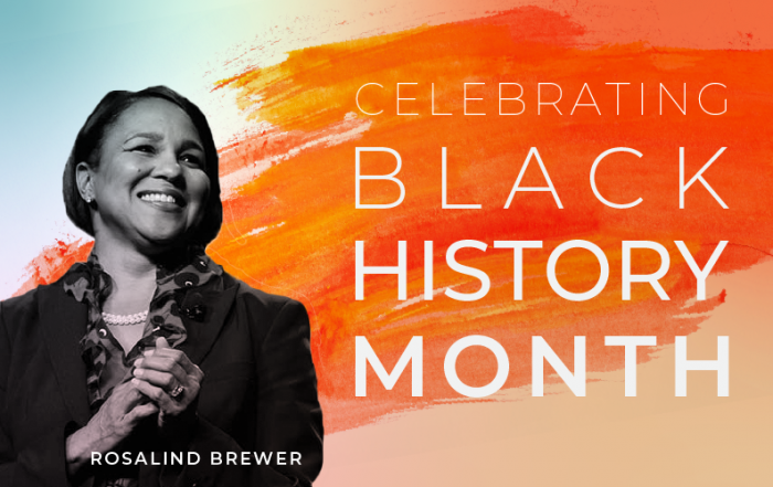 Black History Month Rosalind Brewer