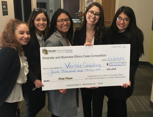 Eccles School team takes first in Diversity & Business Ethics Case Competition