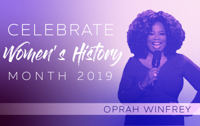 Women's History Month Oprah Winfrey
