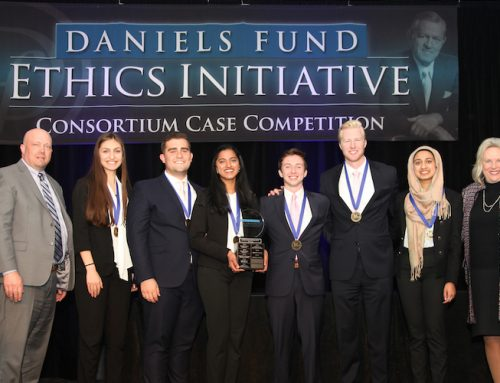 Eccles School takes top spots in Daniels Fund Ethics Fund Case Competition