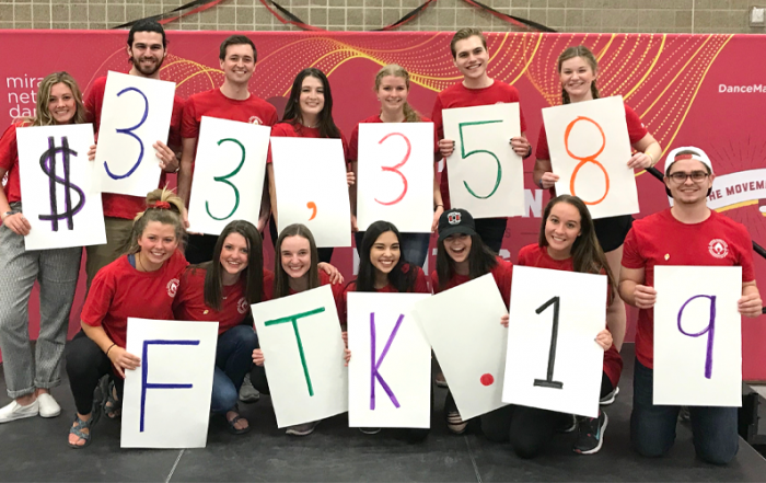 The University of Utah chapter of Dance Marathon is celebrating a successful fundraising campaign that resulted in $33,358 for Primary Children's Hospital.