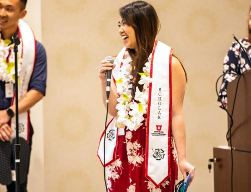 Opportunity Scholars Luau celebrates 2019 graduates