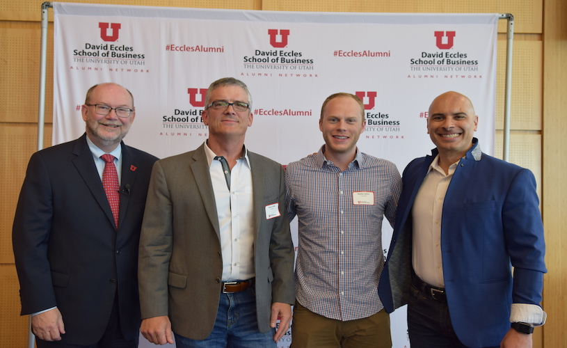 Eccles Alumni Forum panelists help attendees boost their AI IQ