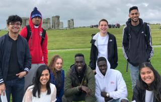 First Ascent Scholars visit London