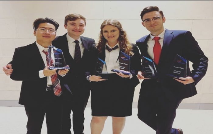 Phi Beta Lambda students took top place at the national competition