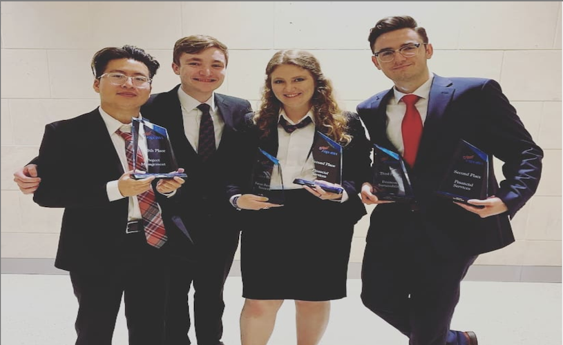 Phi Beta Lambda students at the Eccles School take home national titles