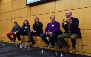 Panelists discuss working with empathy