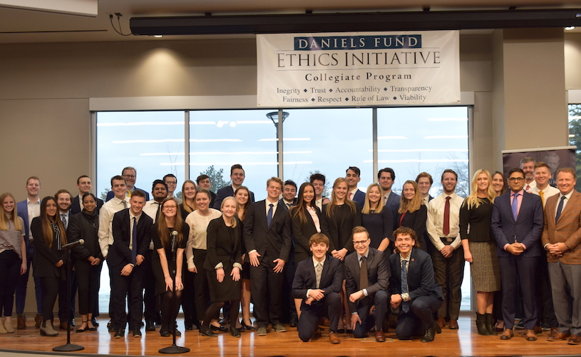 Daniels Fund Ethics Initiative Undergraduate Case Competition Winners