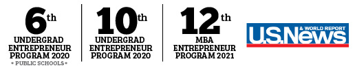 US News entrepreneurship ranking