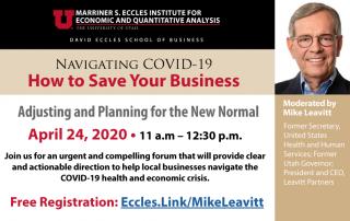 Navigating COVID-19 free online forum series