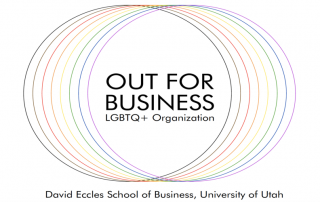 This past fall, thanks to the hard work of several recent graduates, the Eccles School also helped increase the voices of the LGBTQ+ community.