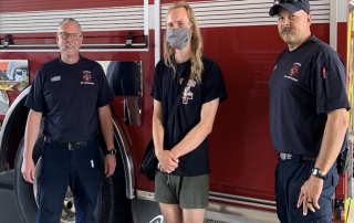 The HEROic actions of Utah HERO Project student worker Ethan Edwards saved the life of an unconscious Syracuse man while waiting for an ambulance.