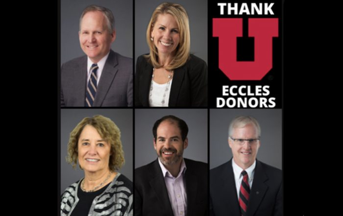 Meet a few Eccles faculty and staff members that exemplify unending support and commitment to the Eccles School community and overall experience.