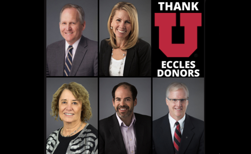 Eccles School faculty and staff embody #WeGiveWednesday