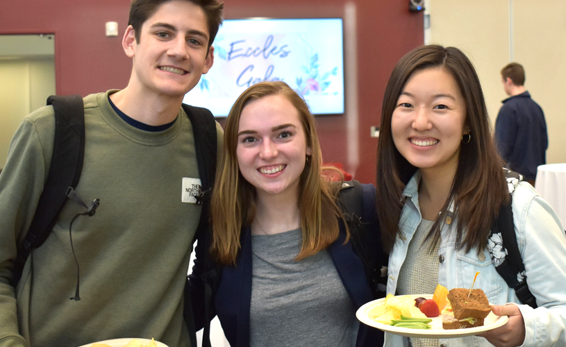 Network, learn, and make life-long friends with Eccles student clubs