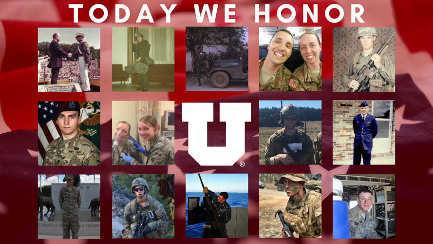 We're thankful for our student and alumni Veterans!