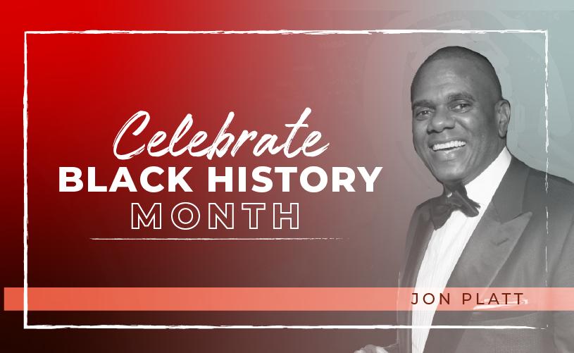 Black History Month: Jon Platt
