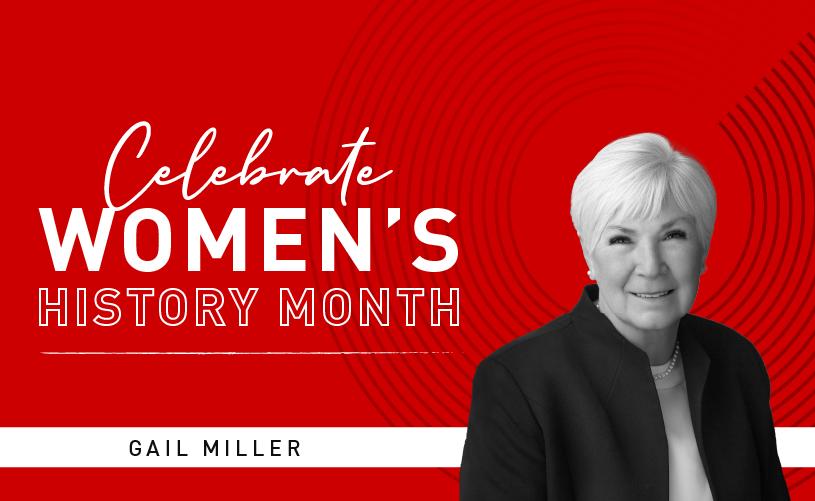 Women's History Month: Gail Miller